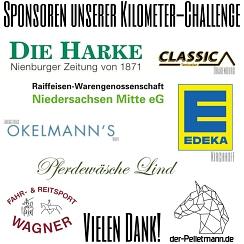 Teil 1  Sponsoren-Kilometer Challange 2021©Reit- und Fahrverein Bötenberg-Wietzen