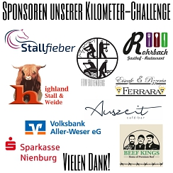 Teil 2 Sponsoren-Kilometer Challange 2021©Reit- und Fahrverein Bötenberg-Wietzen