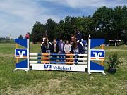 Romina und Hummel Tagessieger Volksbank-Cup 2.6.19 in Bücken