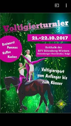 Voltigierturnier©Reit- und Fahrverein Bötenberg-Wietzen